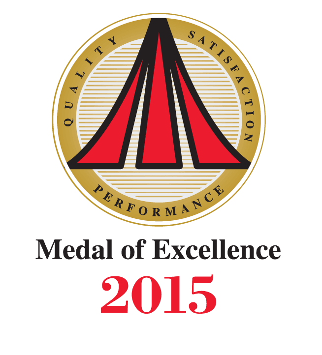 Medal Excellence Award Winner 2015
